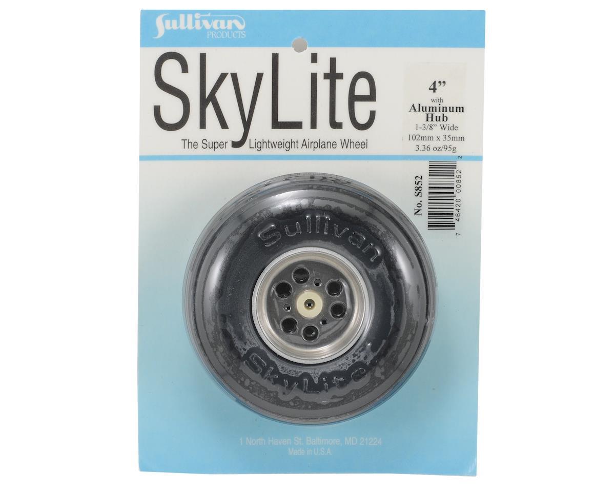 "4"" SkyLite Wheel w/Aluminum Hub by Sullivan"