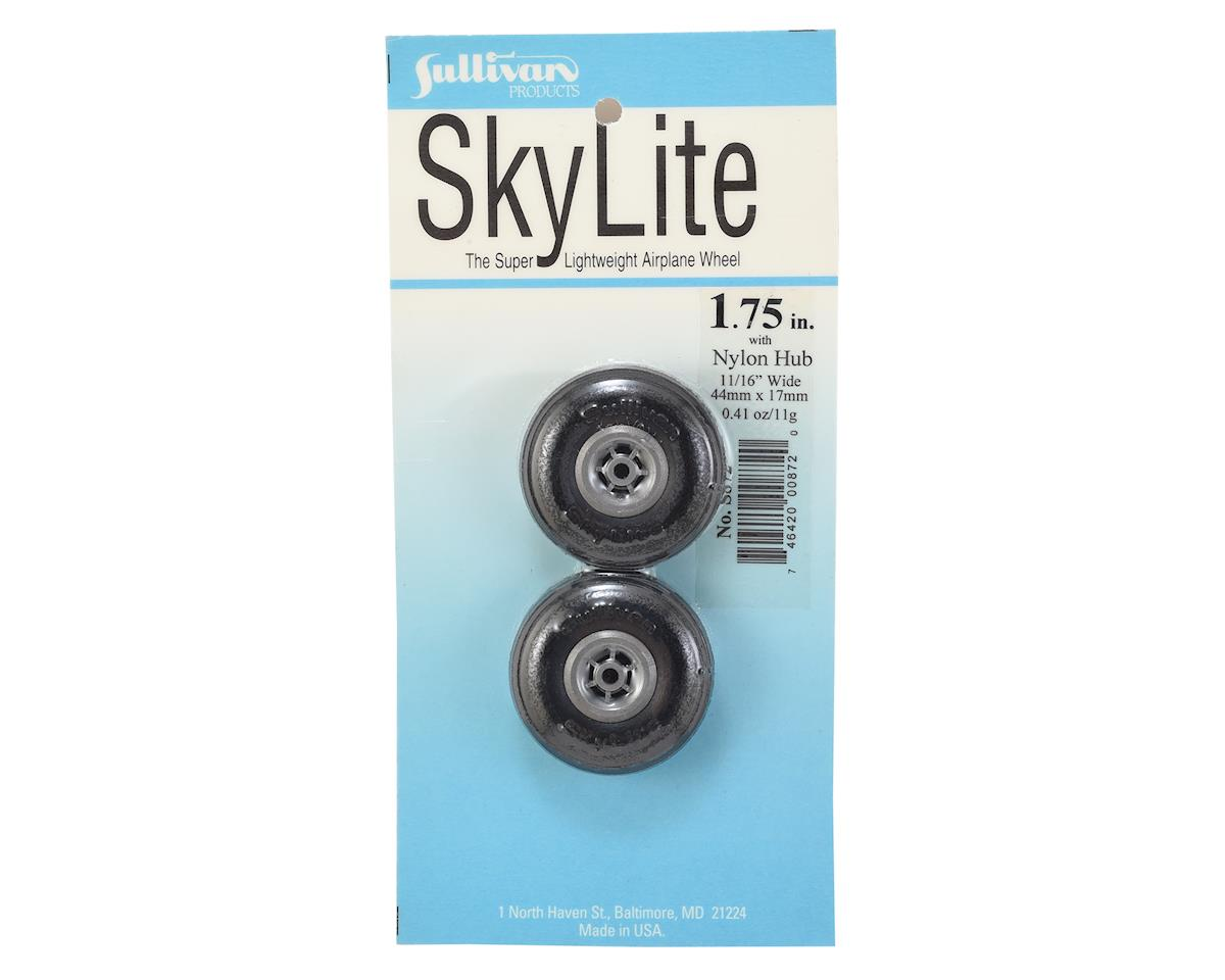 "1-3/4"" Skylite Super Lightweight Airplane Wheels w/Treads (2) by Sullivan"