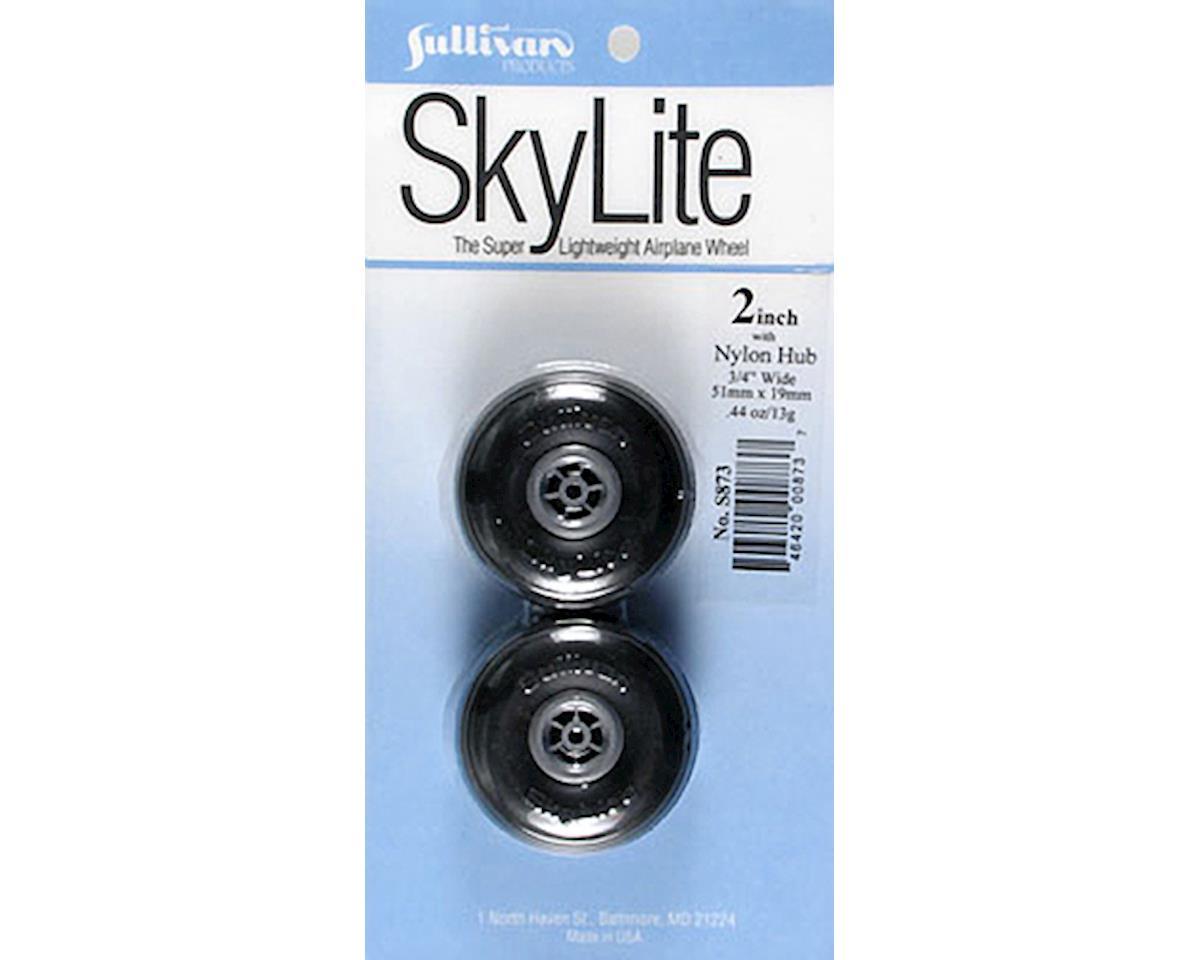 """Sullivan Skylite Wheels w/Treads,2"""""""