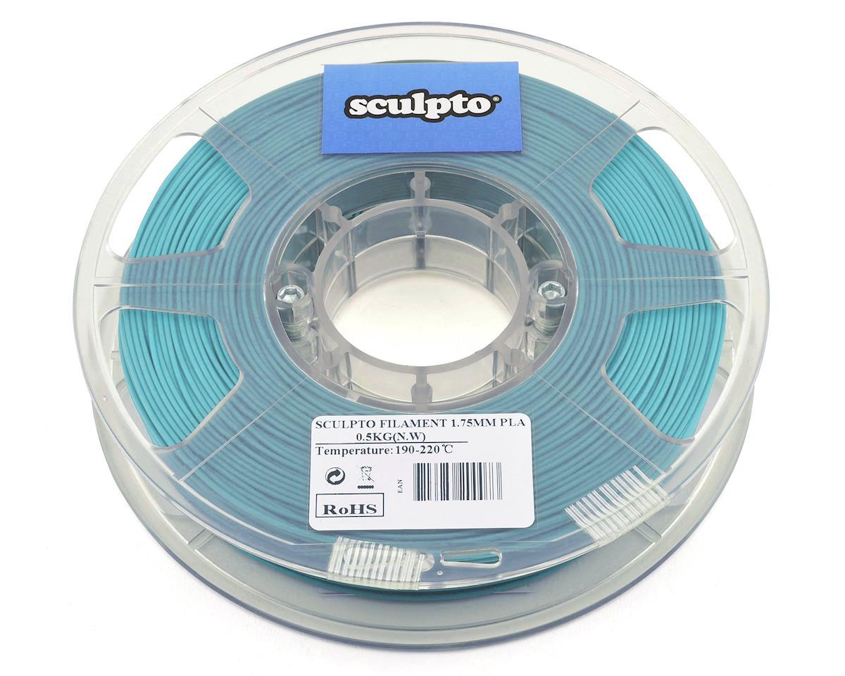 Sculpto 1.75mm PLA 3D Printer Filament (Light Blue) (0.5kg)