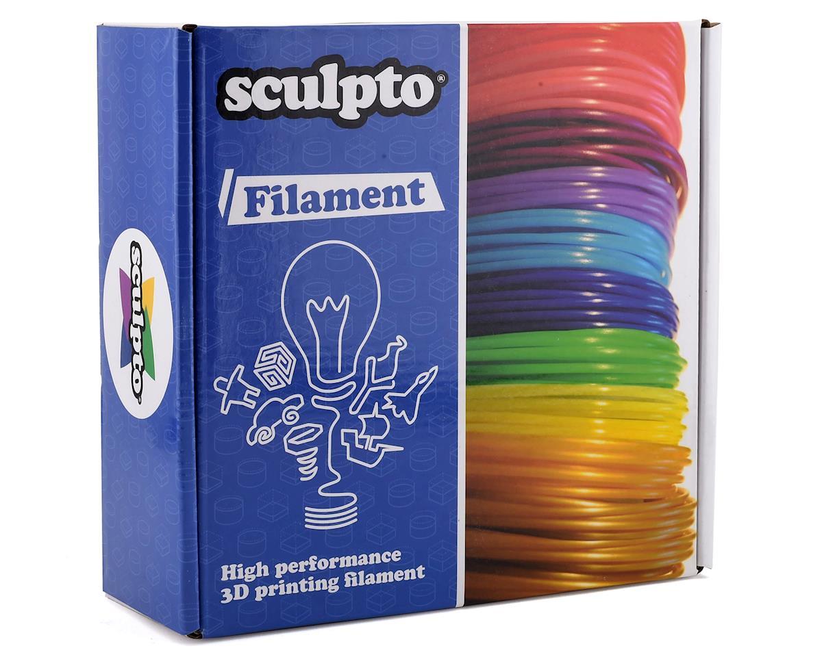 Sculpto 1.75mm PLA 3D Printer Filament (Green) (0.5kg)