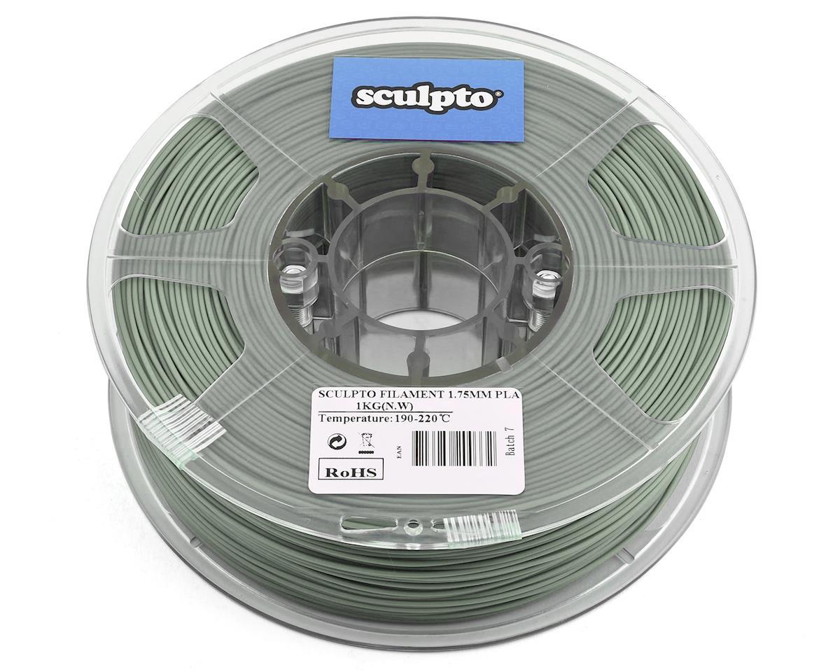Sculpto 1.75mm PLA 3D Printer Filament (Luminous Green) (0.5kg)
