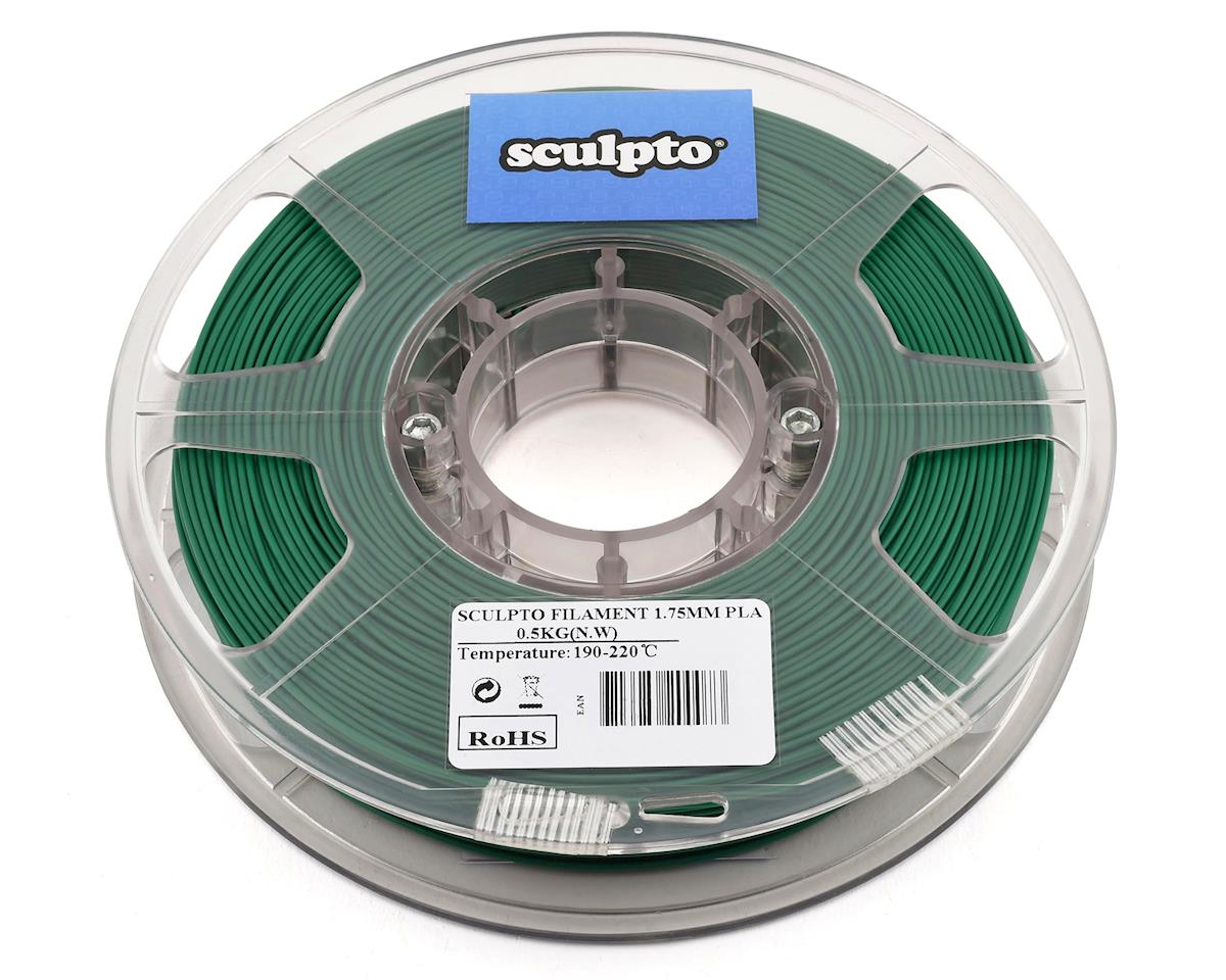 Sculpto 1.75mm PLA 3D Printer Filament (Pine Green) (0.5kg)
