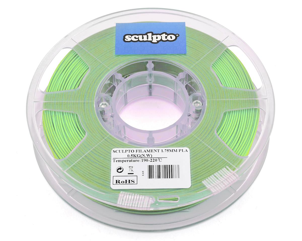 Sculpto 1.75mm PLA 3D Printer Filament (Peak Green) (0.5kg)