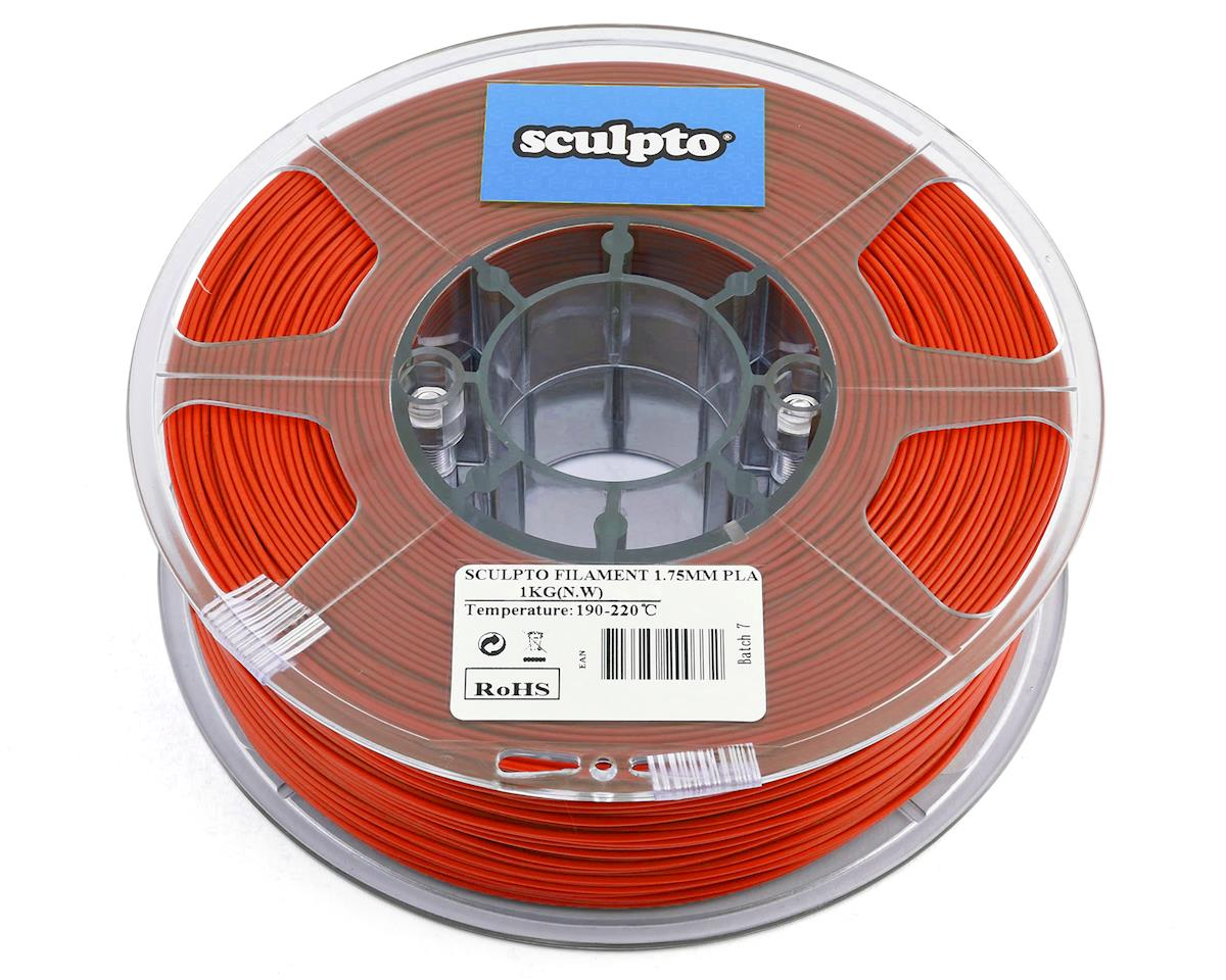 Sculpto 1.75mm PLA 3D Printer Filament (Red) (1kg)