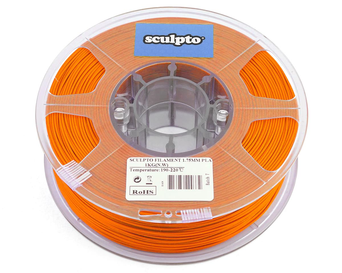 Sculpto 1.75mm PLA 3D Printer Filament (Orange) (1kg)