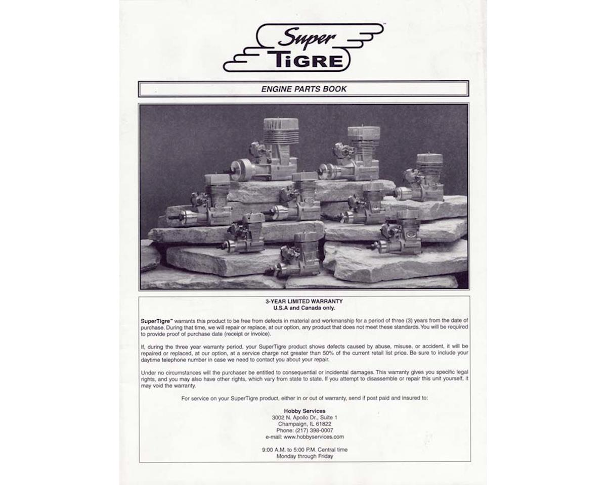 Supertigre Engine Parts Book