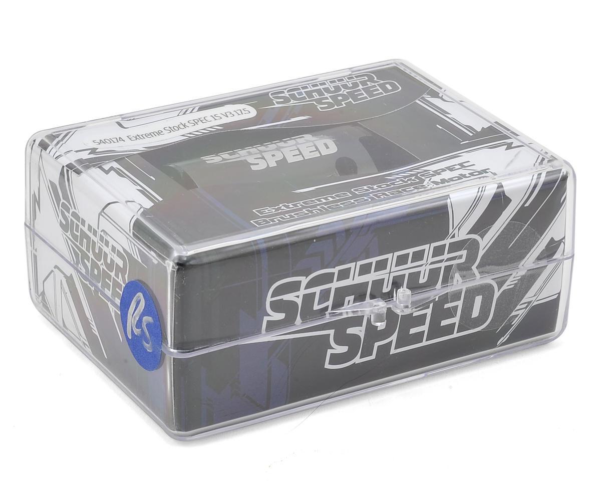 SchuurSpeed Extreme 1S Short Stack SPEC V3 Brushless Motor (17.5T)