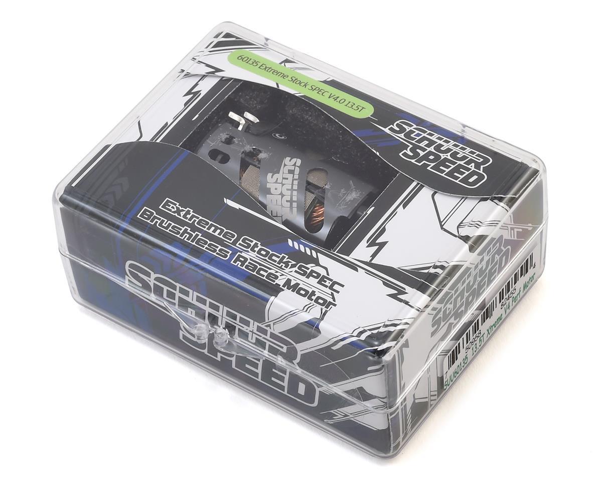 SchuurSpeed Xtreme SPEC V4 Short Stack Brushless Motor (13.5T)