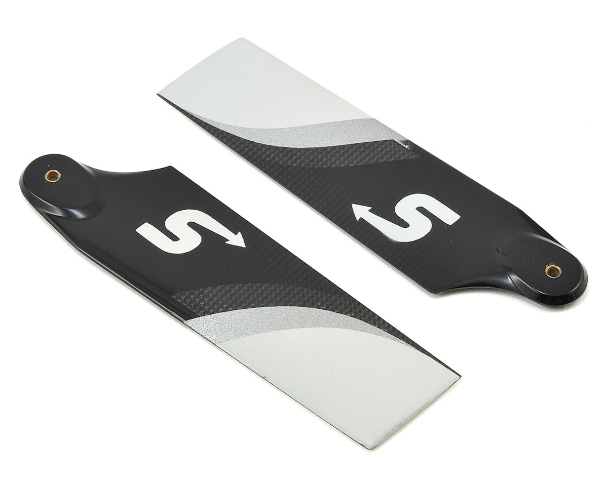 Switch Blades 115mm Premium Carbon Fiber Tail Rotor Blade Set (B-Surface)