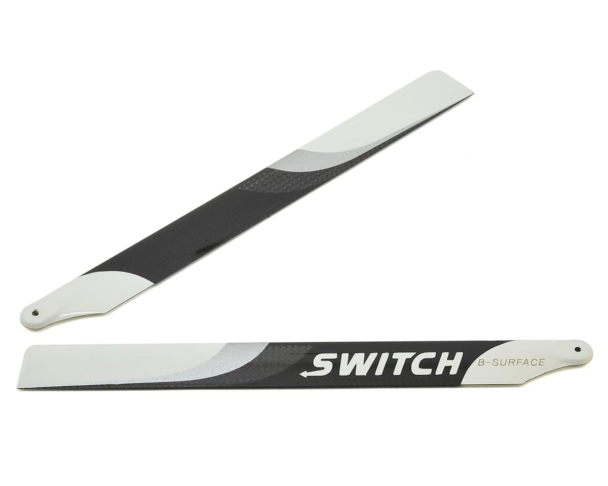 Switch Blades 253mm Premium Carbon Fiber Rotor Blade Set (B-Surface)