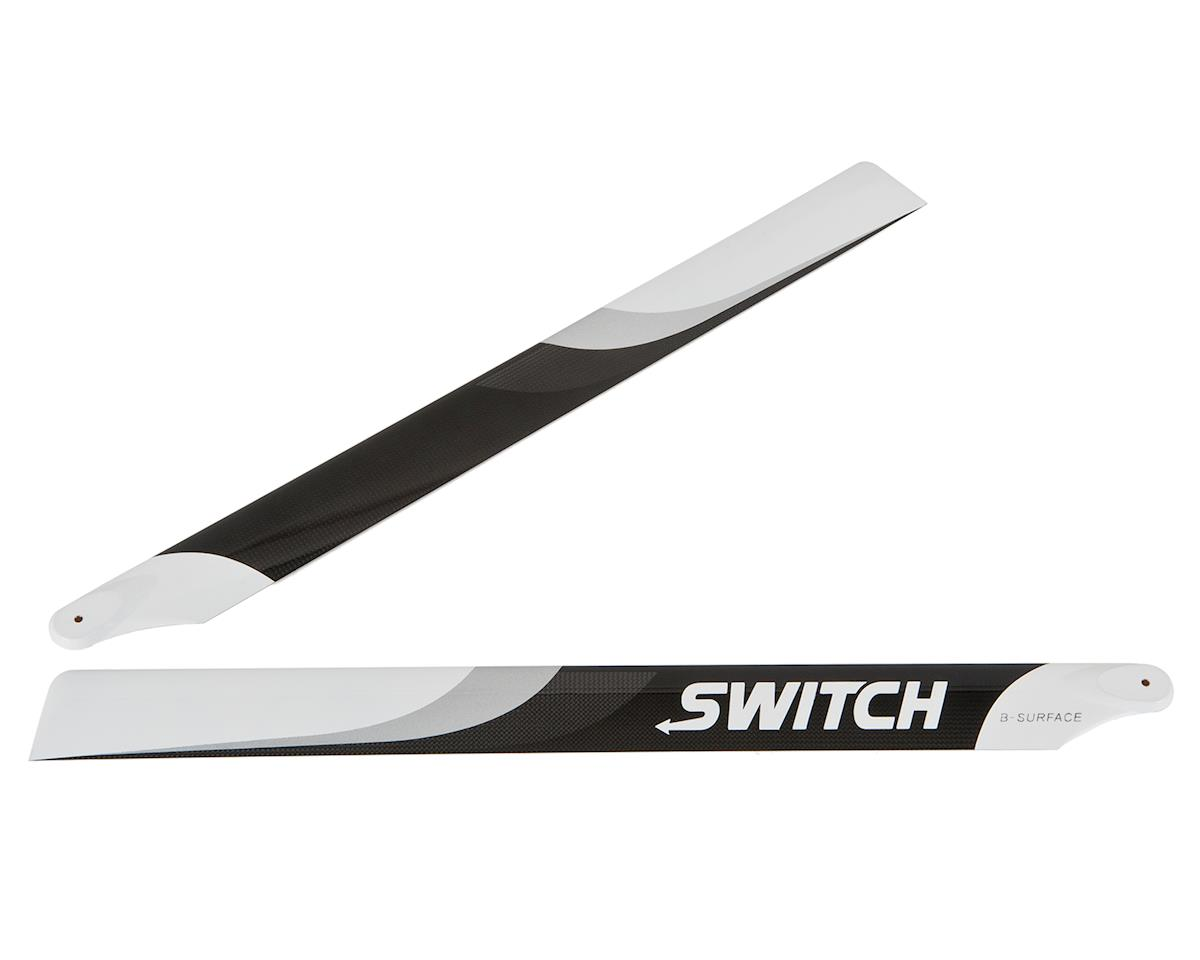 Switch Blades 603mm Premium Carbon Fiber Rotor Blade Set (B-Surface)