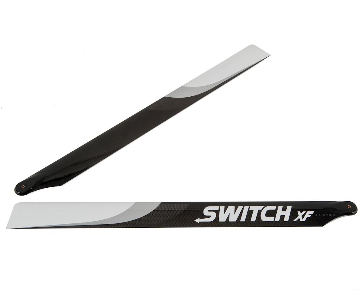 Switch Blades 713mm XF Premium Carbon Fiber Rotor Blade Set (B-Surface)