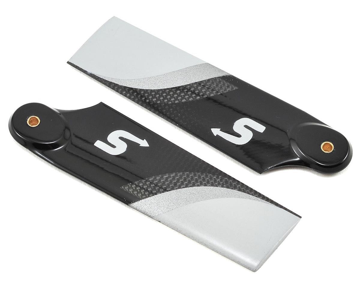 86mm Premium Carbon Fiber Tail Rotor Blade Set (B-Surface)