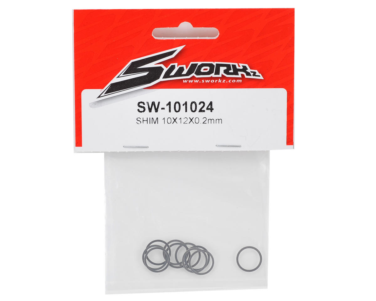 SWorkz 10x12x0.2mm Shim (10)