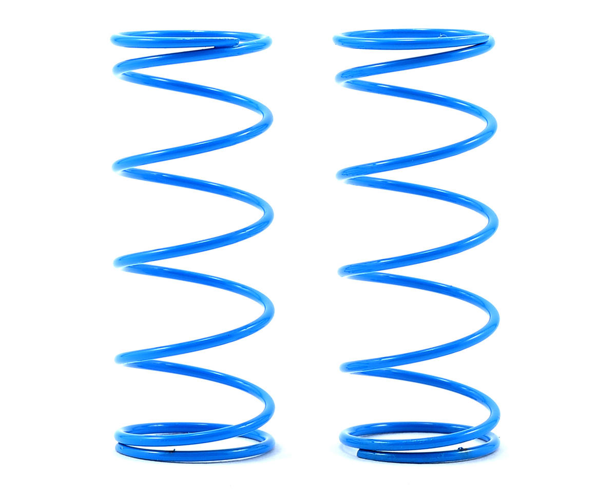 S104 Front Shock Spring (Blue - Medium) (2) (L42mm/1.2mmxP10) by SWorkz