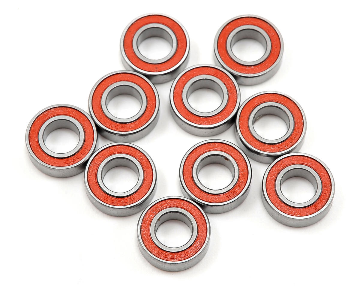SWorkz 8x16x5mm High Performance Rubber Sealed Ball Bearing (10) (S-Workz Racing S350 BX1e)