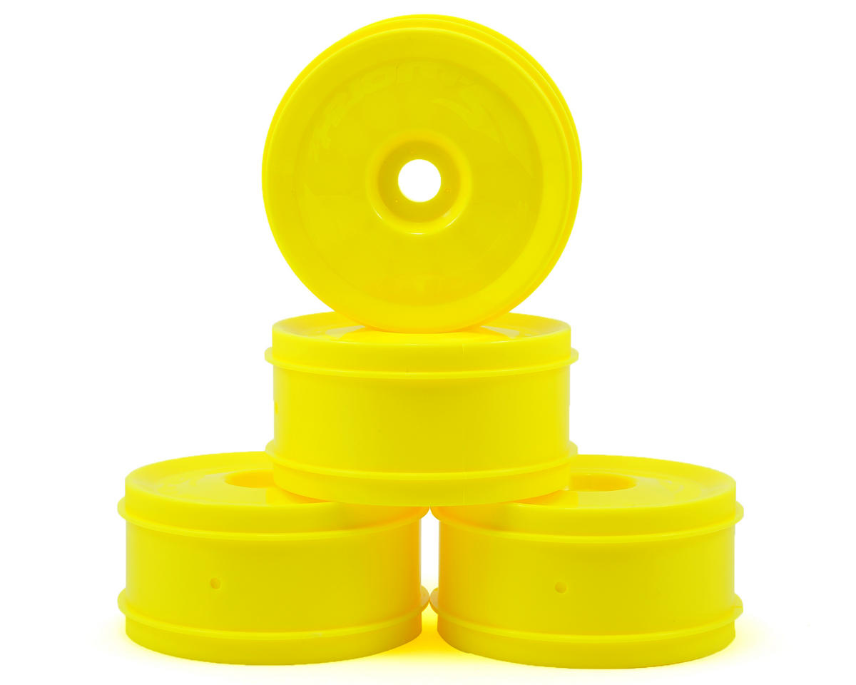 1/8 UFO Wheel Set (4) (Yellow) by SWorkz