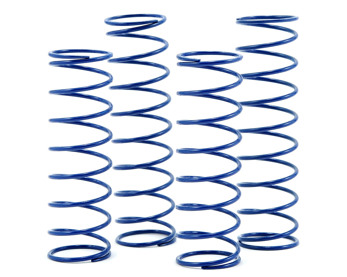 SWorkz 1.6mm Front/Rear Shock Spring Set (Blue) (4) (Soft/P0.8)
