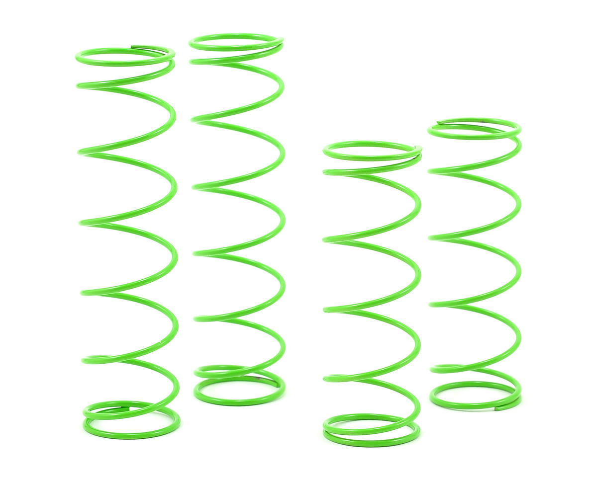 1.5mm Long Pitch Shock Spring Set (Green) (P16) by SWorkz