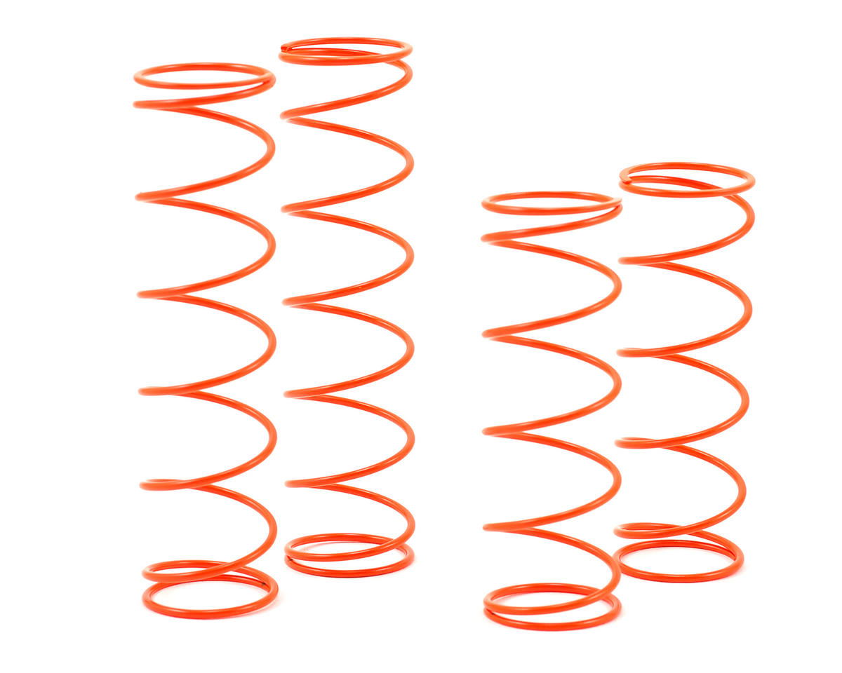 SWorkz 1.4mm Long Pitch Shock Spring Set (Orange) (P16)