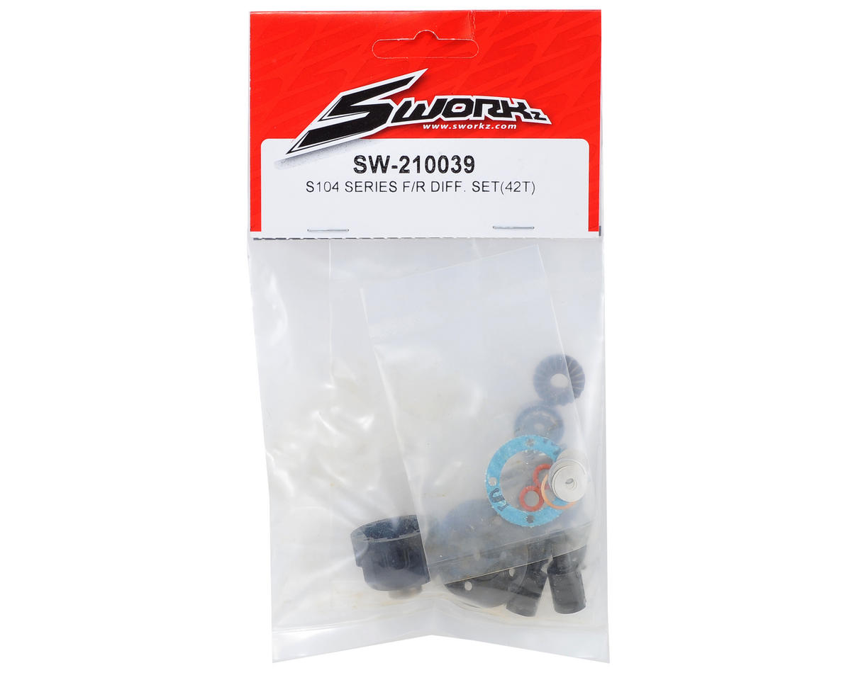 SWorkz S104 Series Differential Set (42T)
