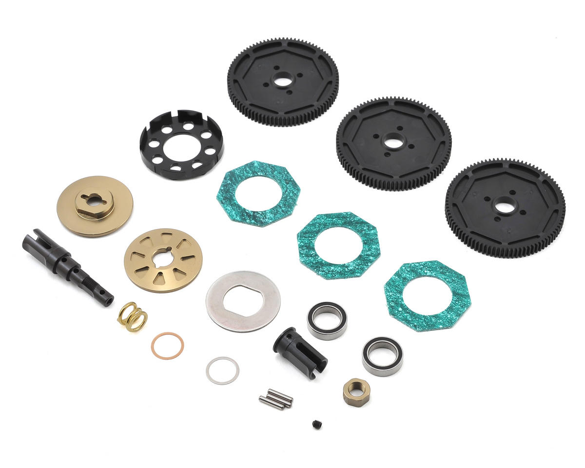 SWorkz S104 EVO Series Center Slipper Clutch Set