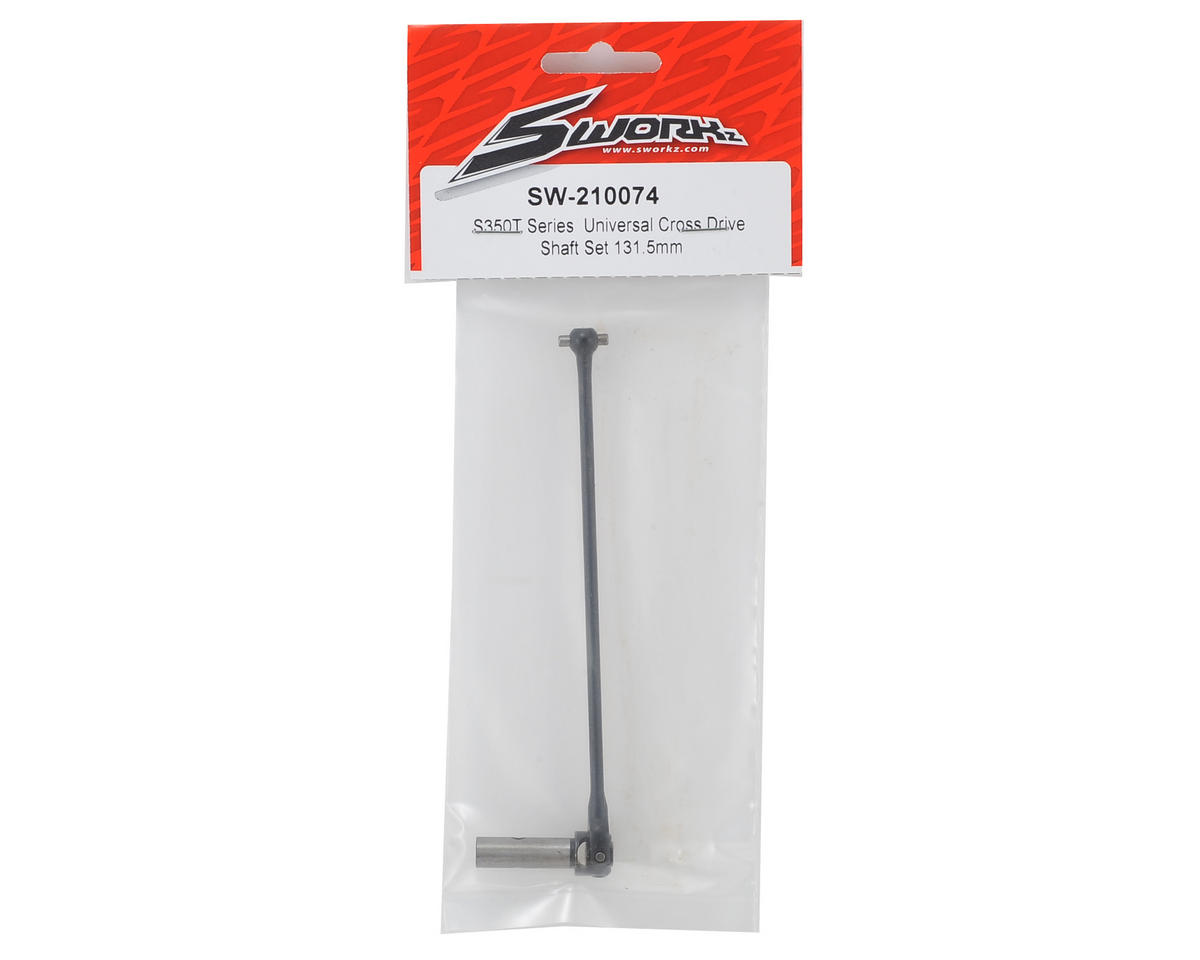 Sworkz S350T Series  Universal Cross Drive Shaft Set 131.5mm
