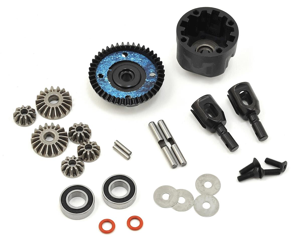 SWorkz S35-3/E Series Front/Rear Pro Straight Differential Set (43T) (S-Workz S35-3E)