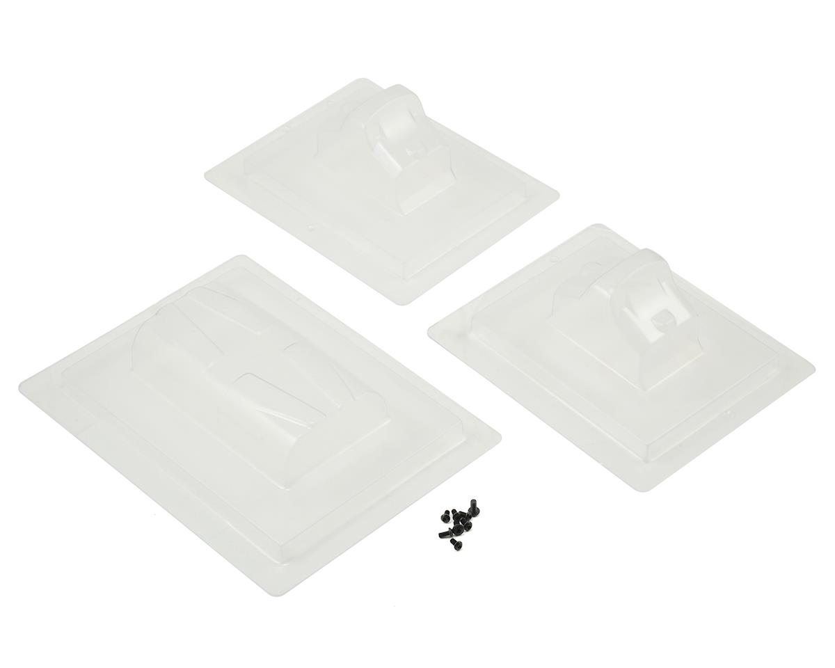 SWorkz 1/8 Off-Road Formula Bulkhead Wing & Front Upper Arm Wing Set (4)