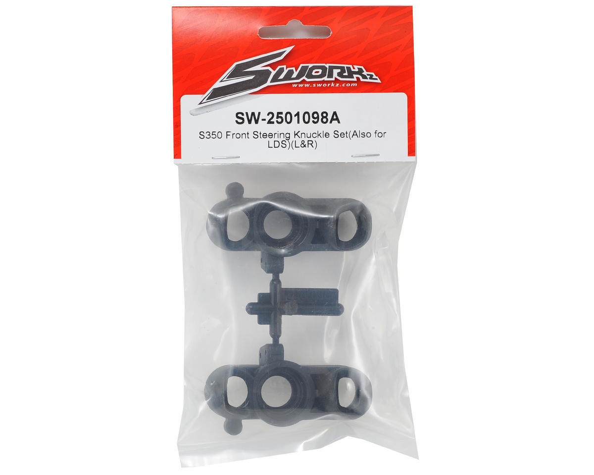 SWorkz S350 LDS Front Steering Knuckle Set