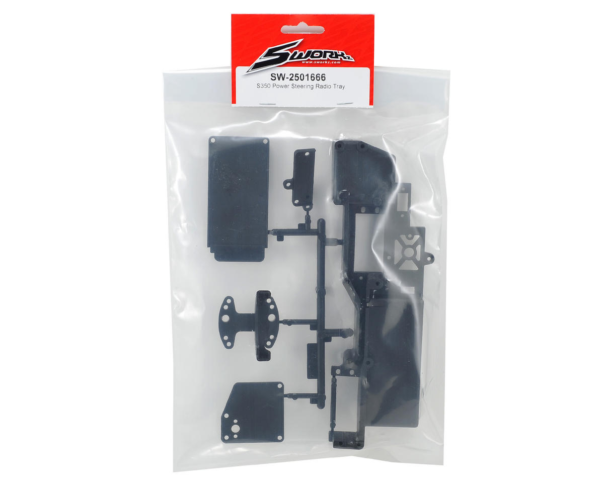 SWorkz Power Steering Radio Tray Set