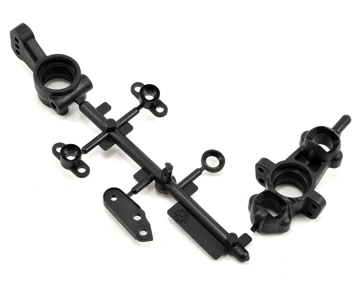 SWorkz S104/EVO Front Steering Knuckle & Rear Hub Carrier Set