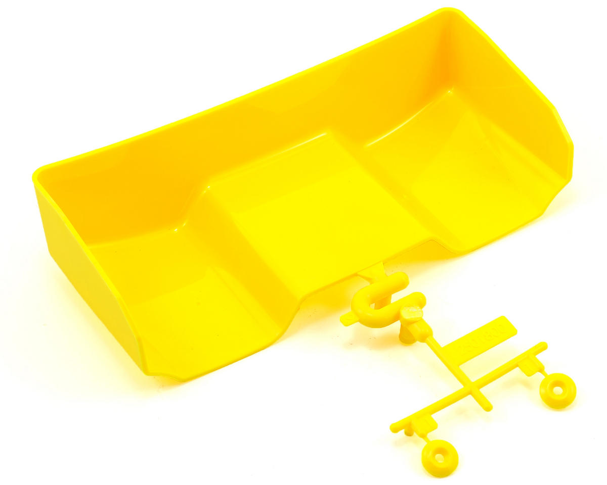 SWorkz S-Workz Racing S104 Rear Wing Set (No Holes) (Yellow)