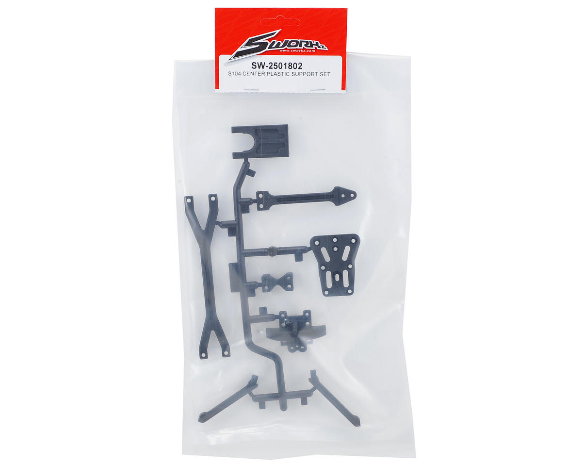 SWorkz S104 Center Plastic Support Set