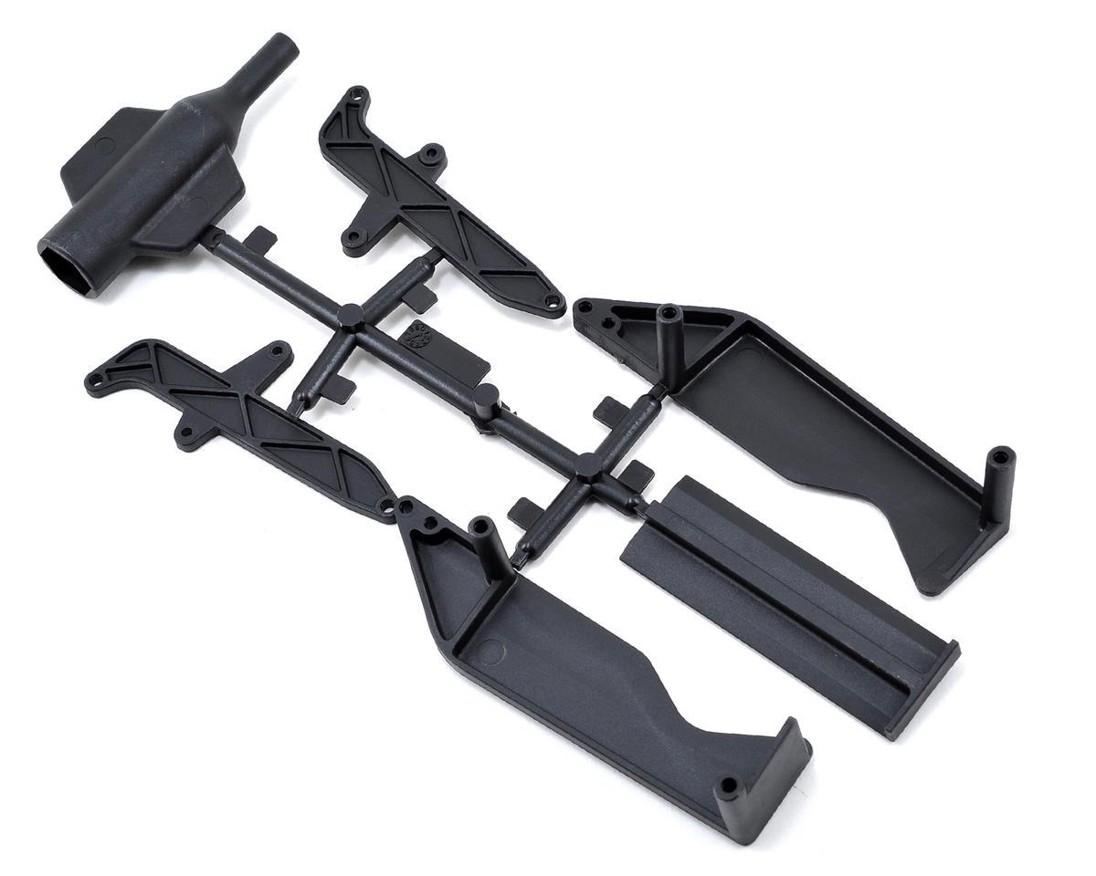 SWorkz S104 Saddle Pack Battery Side Guard Set w/Battery Holder