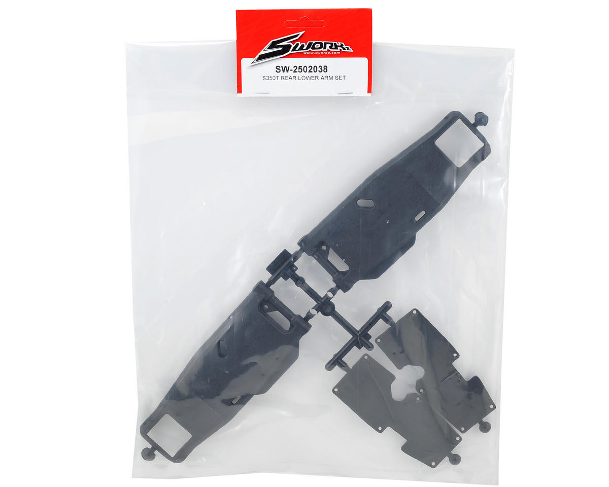 SWorkz S350T Rear Lower Arm Set