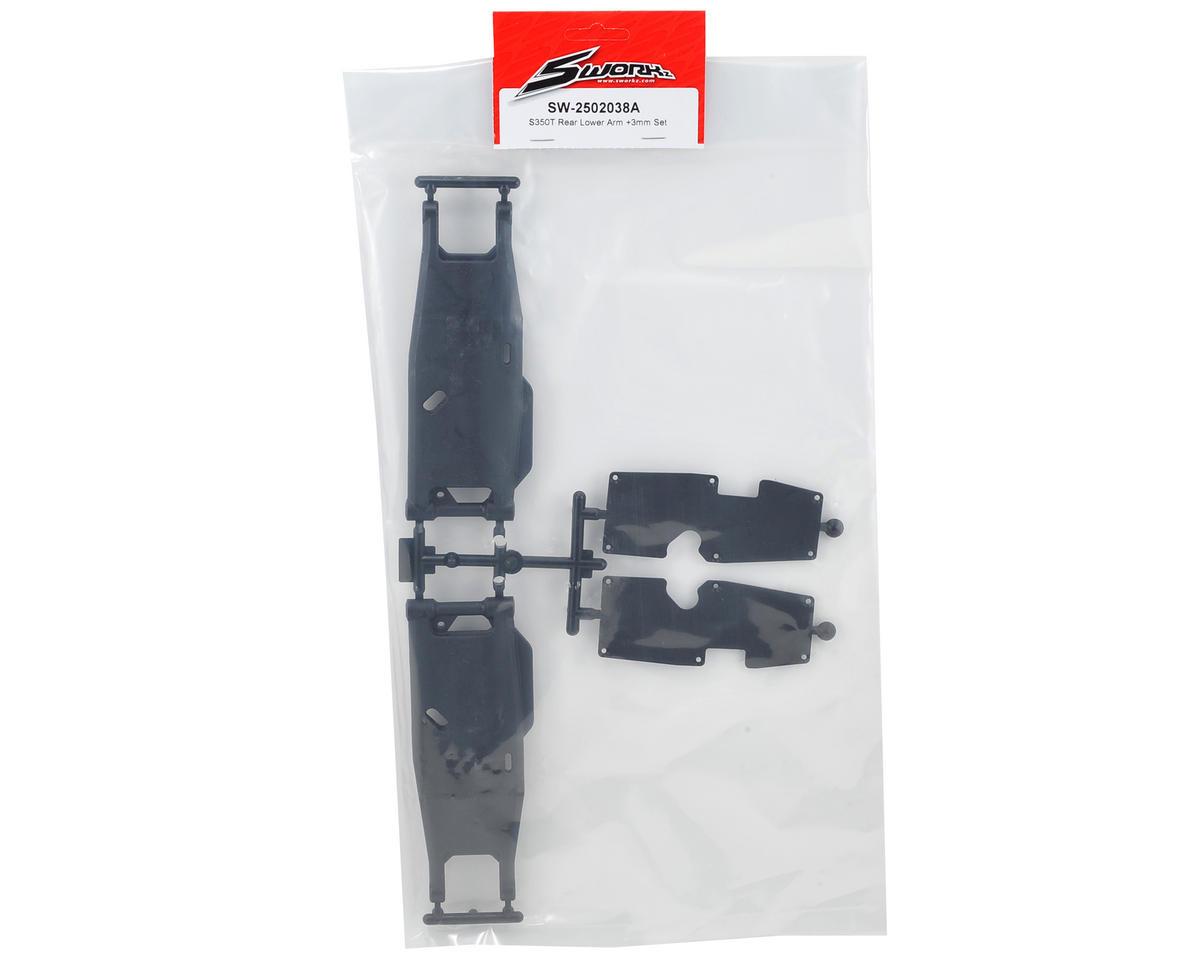 SWorkz S350T +3mm Rear Lower Arm Set