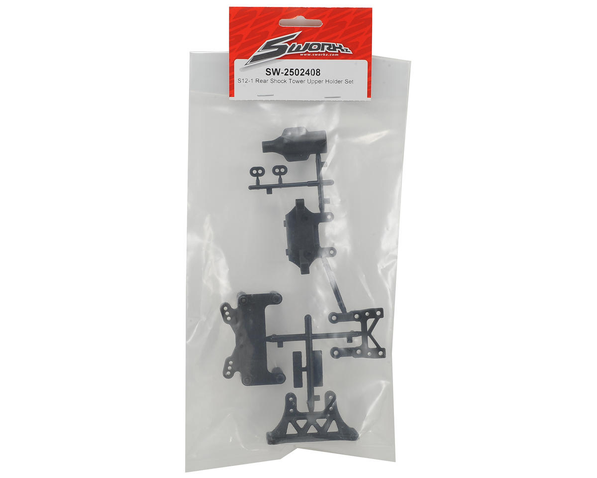 SWorkz Rear Shock Tower Upper Holder Set