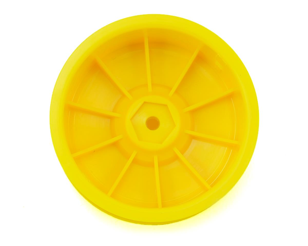 SWorkz 12mm Hex S12-1 2WD Front Buggy Wheel (Yellow) (2)