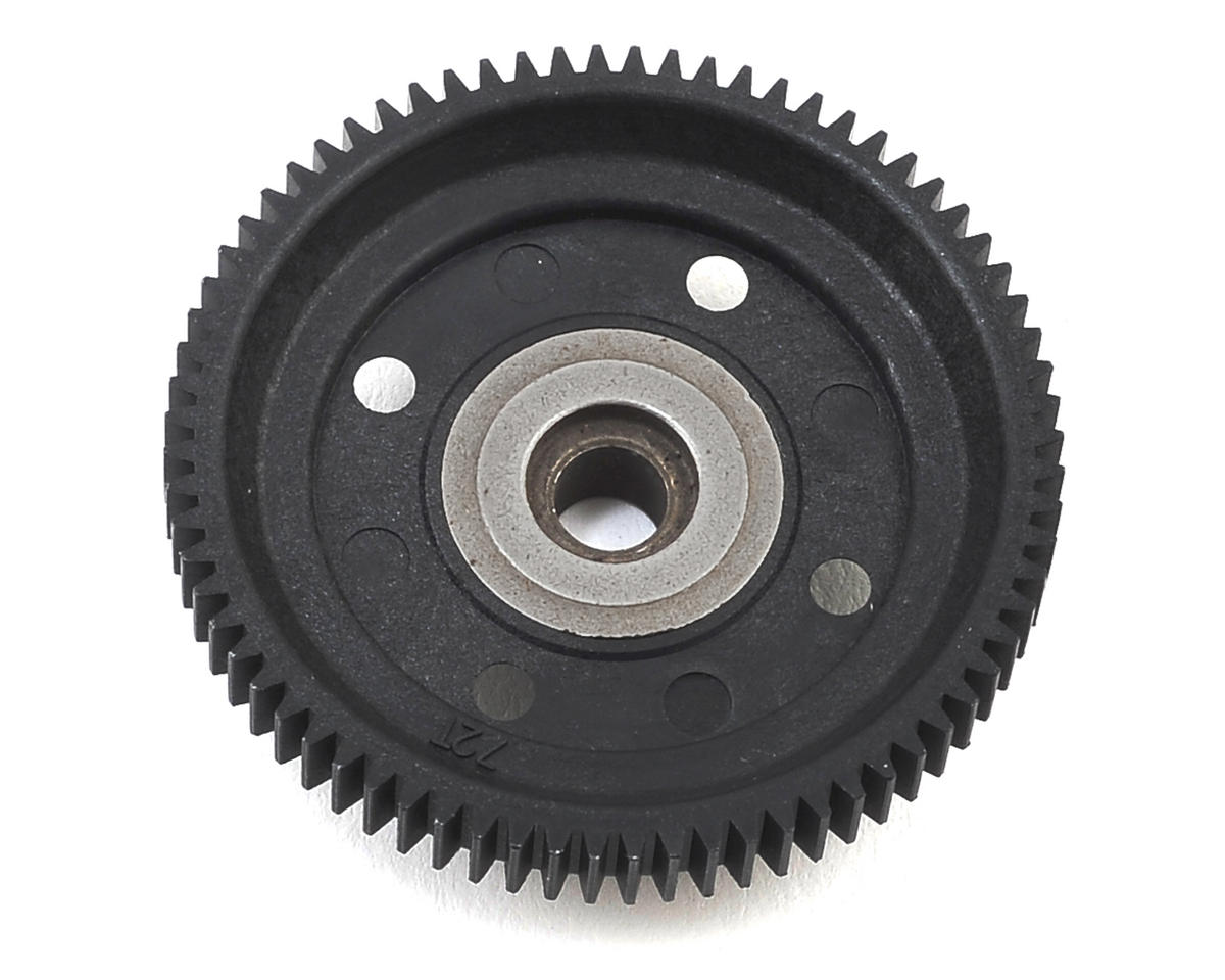 SWorkz S104 EVO Center Gear Diff Spur Gear (72T)