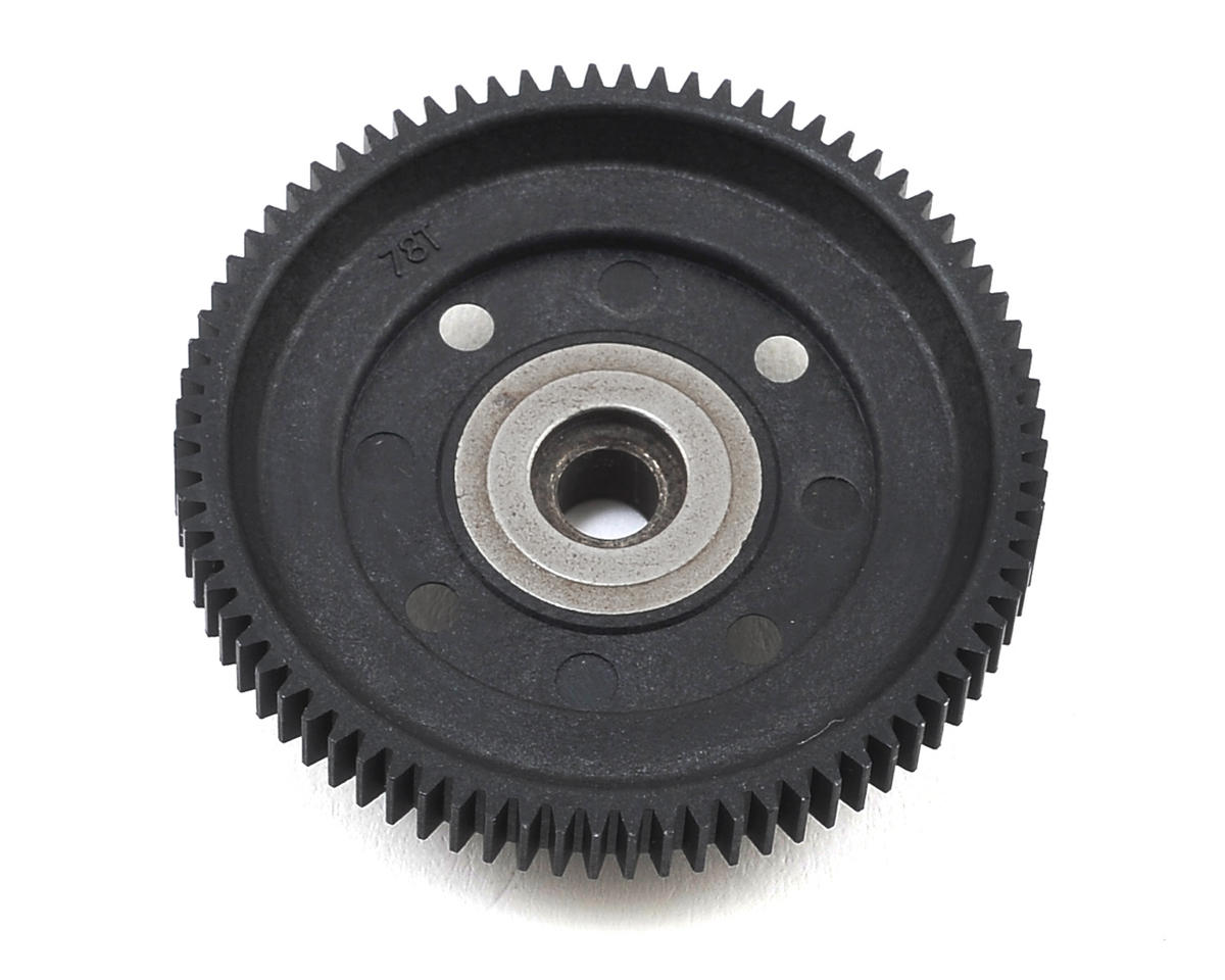 S104 EVO Center Gear Diff Spur Gear (78T) by SWorkz