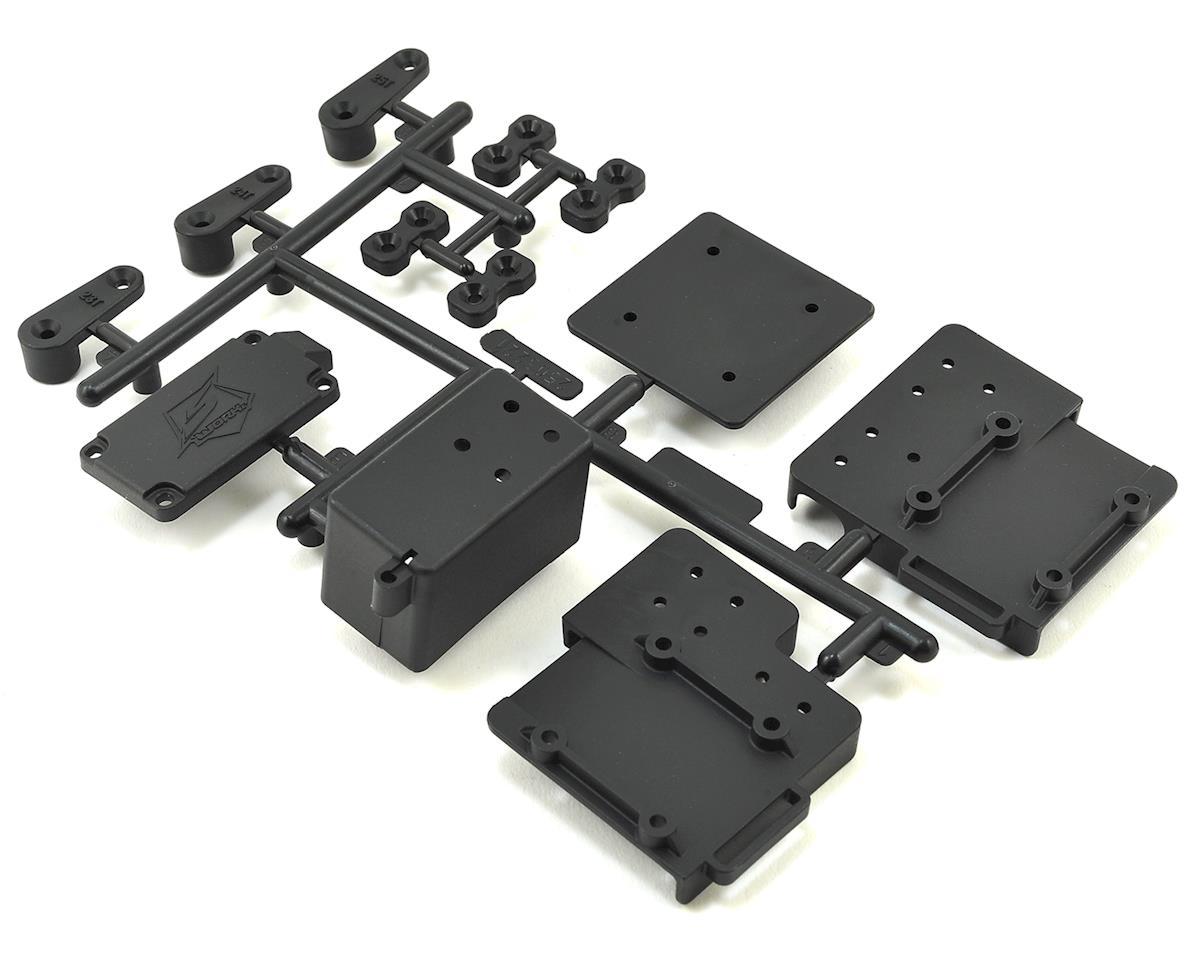 SWorkz S35-2E/3E Series Black Plastic Radio Box/Battery Case Set (S-Workz S35-3E)