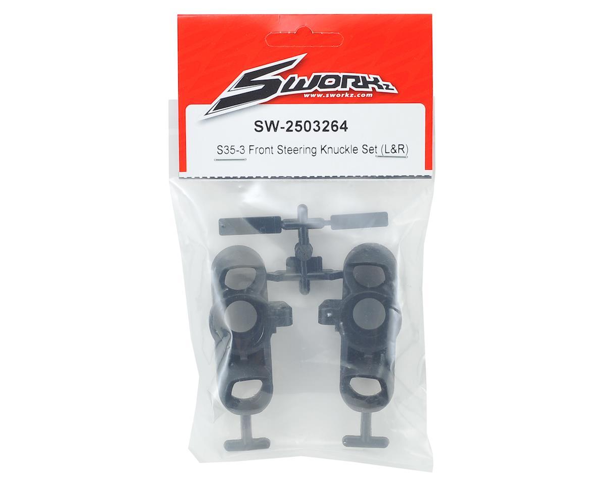 SWorkz S35-3 Front Steering Knuckle Set