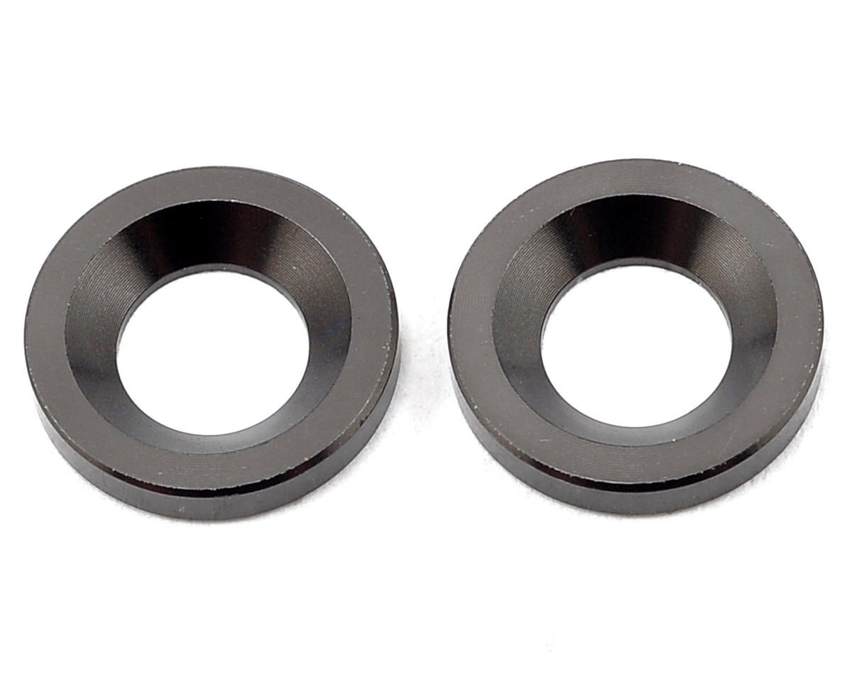 S350 Series Knuckle Pivot Ball Washer (Gunmetal) (2) by SWorkz