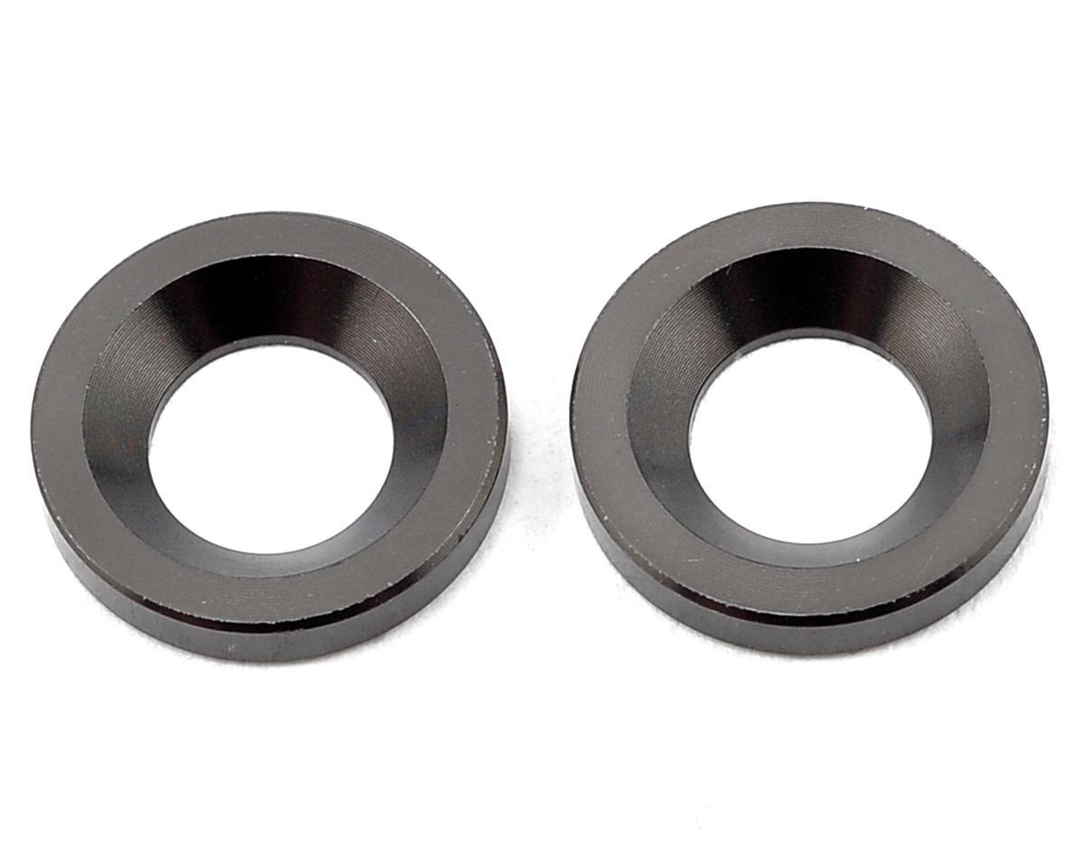 S350 Series Knuckle Pivot Ball Washer (Gunmetal) (2) by SWorkz