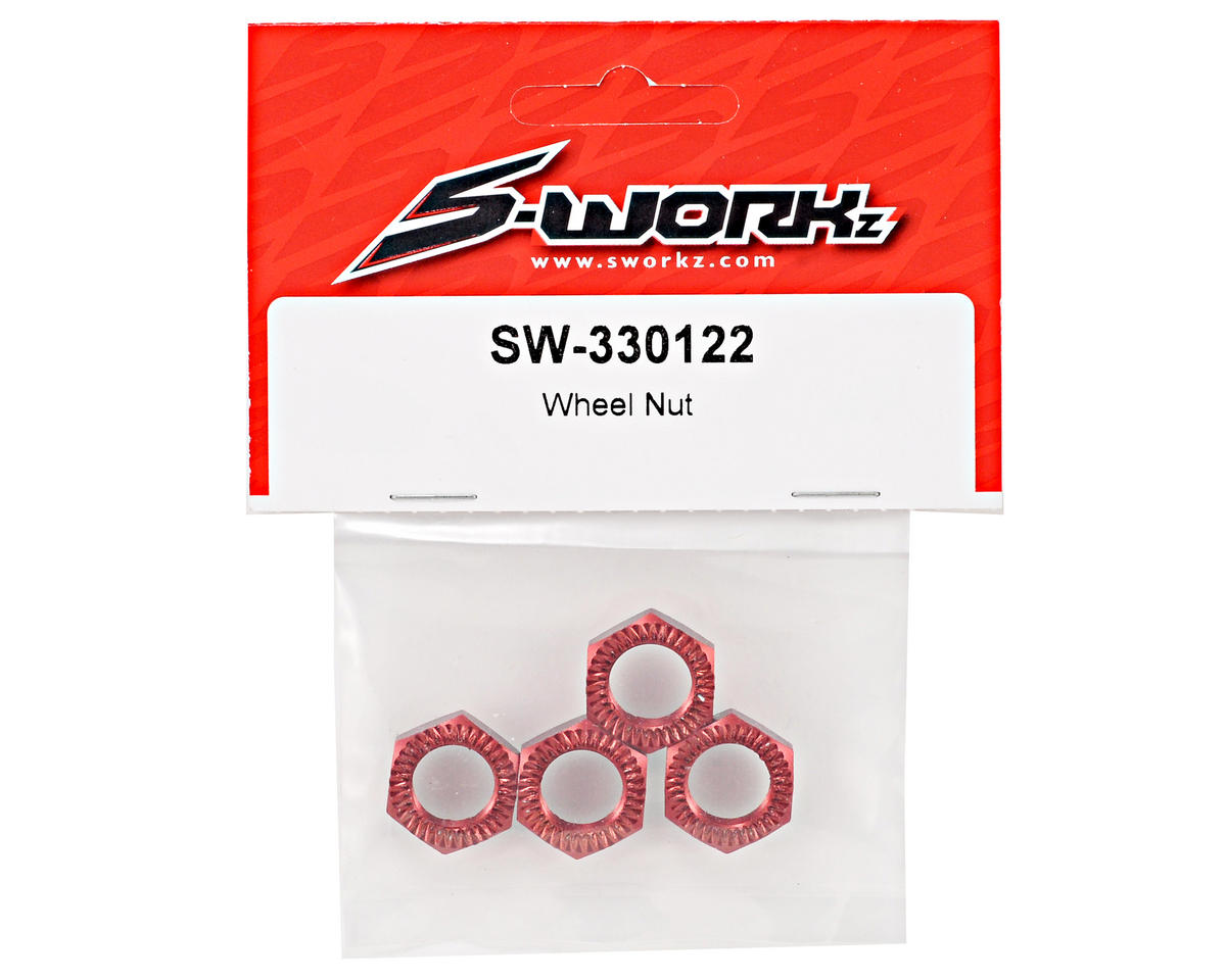 SWorkz Wheel Nut Set (4)
