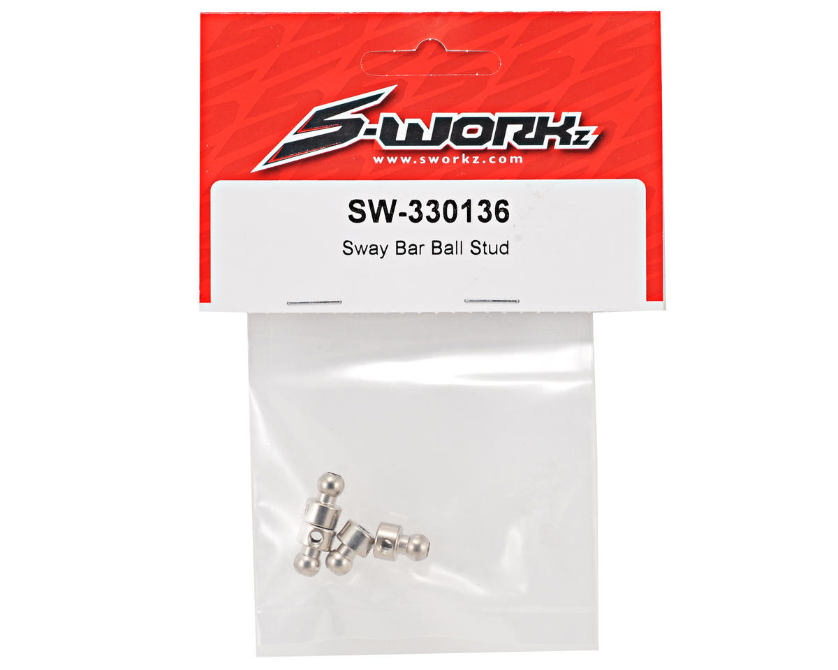 SWorkz Sway Bar Ball Stud Set (4)