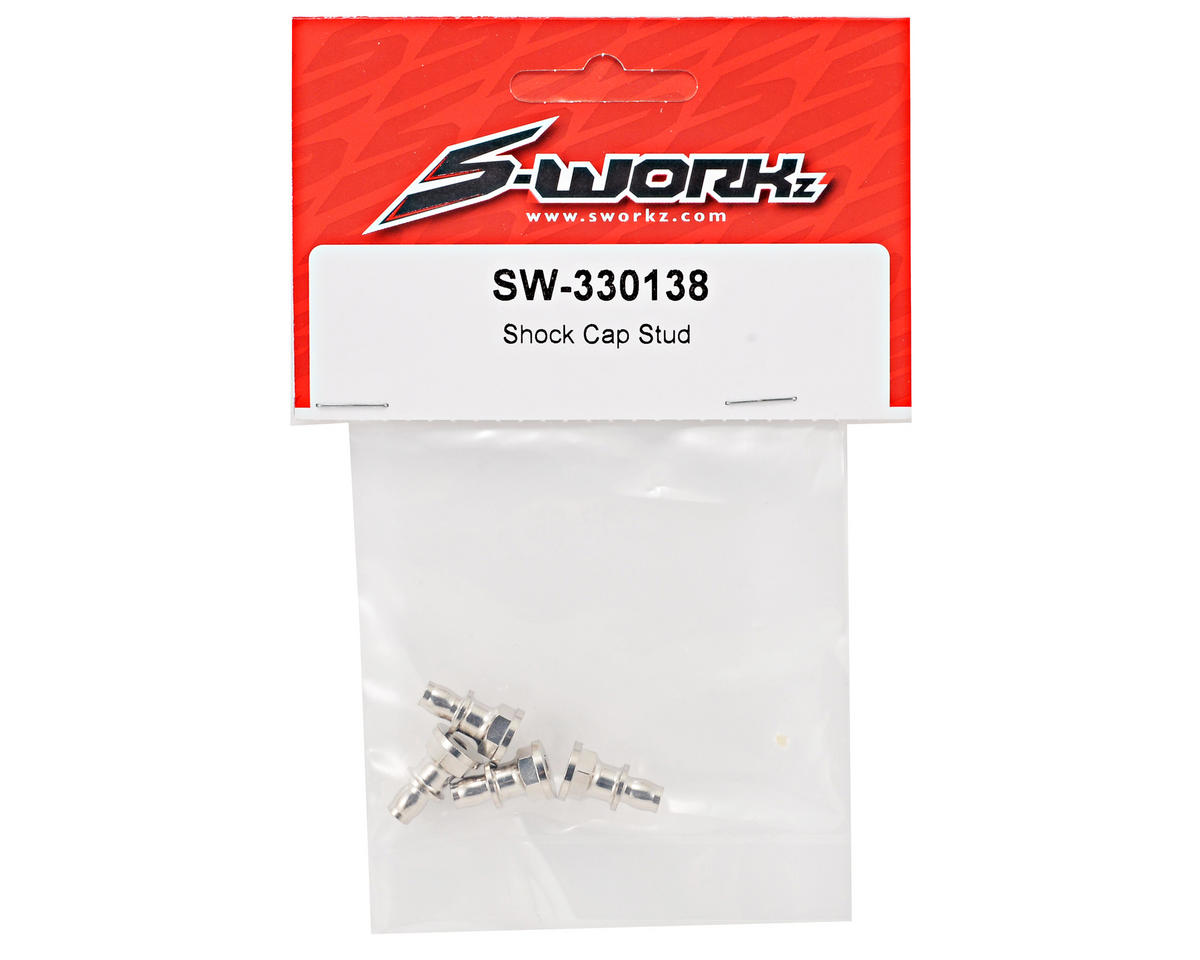 SWorkz Shock Cap Stud Set (4)