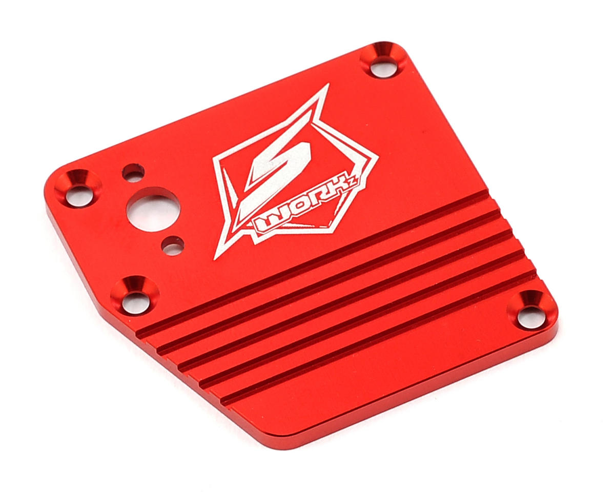 PSP Aluminum Receiver Box Cover (Red) by SWorkz